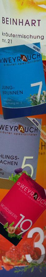 Dr. Weyrauch Kräuterspezialitäten für Hunde