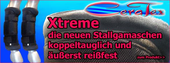 Koppeltaugliche Stallgamasche Xtreme